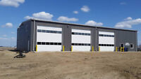 Pre-engineered steel buildings, roofing and siding