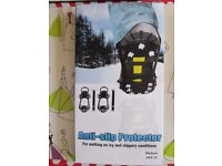 Anti-slip protector for waking on icy and slippery conditions – new