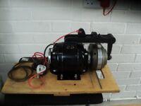 1/4 horse power clutch motor