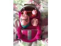 Peppa Pig toy car/buggy