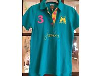 Women's Joules polo shirt Size 8