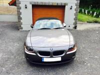 54 plate BMW Z4-2.2 petrol-2 keys-full history-red leather seats-