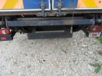 PAR Cargolift under chassis aliminium platform