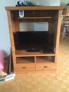 Oak TV/Entertainment cabinet