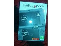 New Nintendo 3ds xl with PRE INSTALLED GAMES!