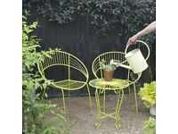 Retro Garden Bistro set. (Reduced)