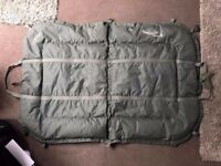 Large Elite Multi Mat Unhooking Mat & Weighing Sling For Carp Fishing Bean Fill