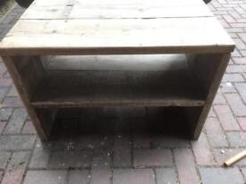 Rustic tv/coffee table