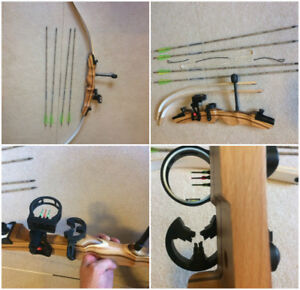 New take down bow recurve bow