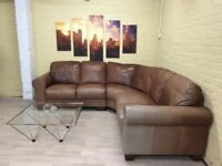 Sofitalia Leather Corner Sofa