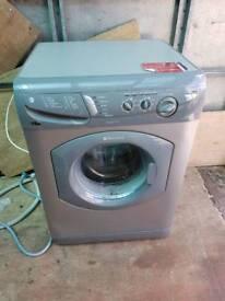 Grey hotpoint 6kg washing machine