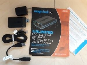 MAGICJACK GO DEVICES WITH 1 YEAR OF SERVICE INCLUDED