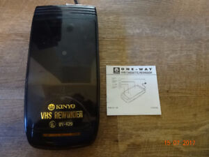 Kinyo VHS Cassette Rewinder