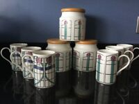 Dunoon - Charles Rennie MacIntosh Cups & Cannisters