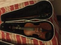 Child's Violin 1/2 beginner violin