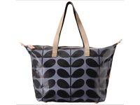 NEW - Orla Kiely shopper messenger bag in Midnight - Brand new RRP £105