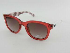 NEW LACOSTE  sunglasses L670S-615 tennis golf red white unisex