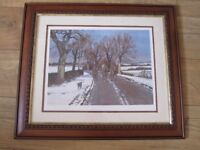Neil Cawthorne signed limited edition Framed Print ' Christmas Morning ' 716 / 850