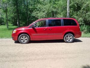 2008 Dodge Grand Caravan SE with SXT upgrades, Safety & E-tested
