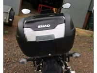 Sv650 al7 luggage system