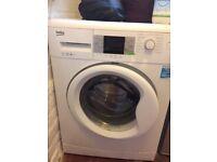 Beko WM7023W Slim Depth Freestanding Washing Machine - 7kg Load, A+++ Energy Rating, 1200rpm Spin