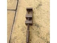 Vintage tool. Clamp.