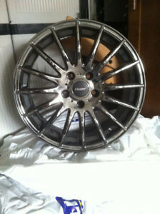 Set of four RIVAL Rims Model F179  /17x7.5   Used two mths $480