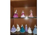 8 Royal Doulton Figurines