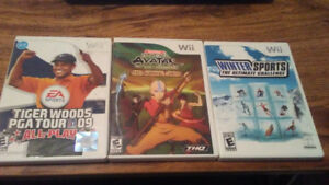 7 wii games selling together
