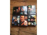 24 série DVD boxset - seasons 1 to 6