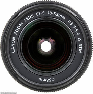 CANON EF-S 18-55 STM IS the latest improved Version