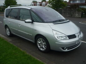 Renault Espace 2.0 DCI 130BHP DYNAMIQUE **Full Service History** (silver) 2007