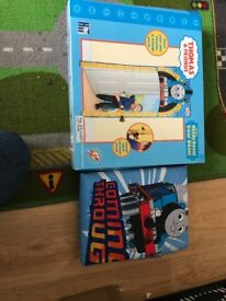 Thomas the tank engine curtains and door surround