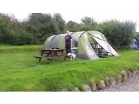 Galileo 5 tent with front extension,
