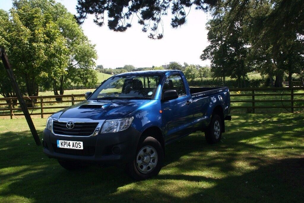 Toyota Hilux 2.5 D4D Single cab Pickup   in Randalstown ...