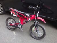 Childrens bike, probably for upto 6/7 years old