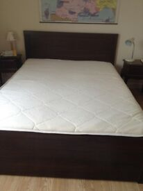 Perfect quality, as new double bed and mattress