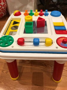 FISHER PRICE ACTIVITY TABLES