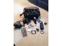 Yashica FX-3 Camera with loads of accessories and bag