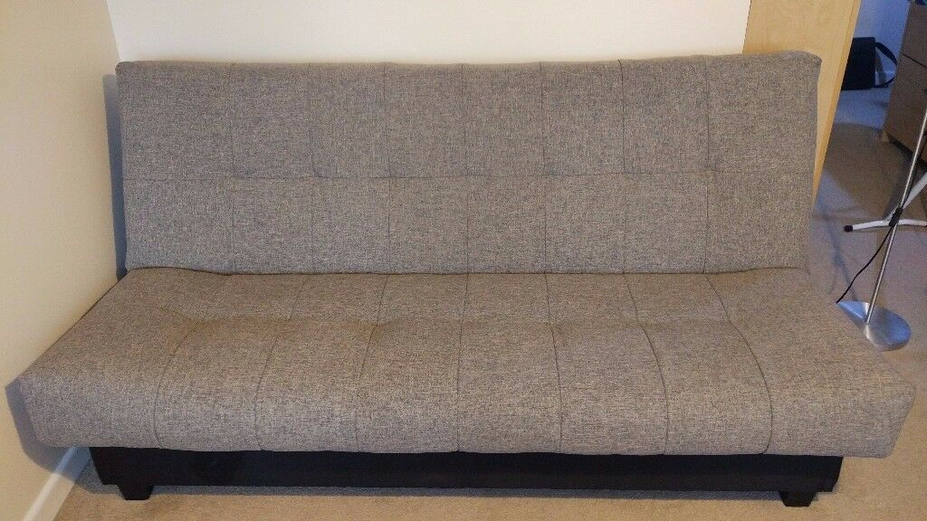 Debenhams Grey San Jose Double Sofa Bed With Storage