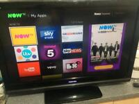 """Toshiba 37"""" freeview full HD TV - excellent condition"""
