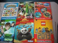 Selection of Children's Annuals - as new -perfect condition - not written in