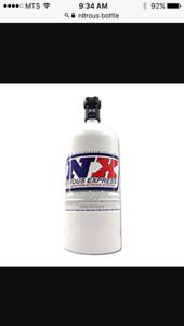 Looking for nitrous bottle