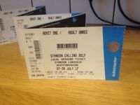 Standon calling tickets X4
