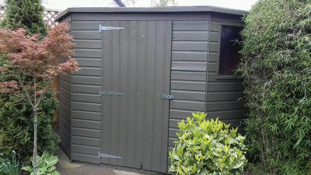 garden shed 7x7 corner shed corner garden sheds 7x7