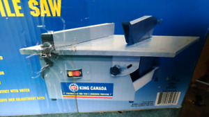 "KING CANADA 7"" PORTABLE TILE SAW"