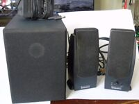 Altec Lansing Series 100 PC Speakers with Subwoofer