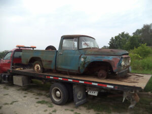 1960's International Short Box Truck