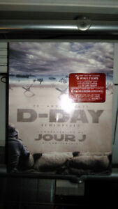 Brand New Sealed D-Day Remembered 6 Movies Blu-Ray Gift Set
