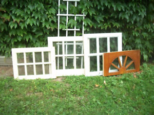 VARIETY WINDOW SASHES